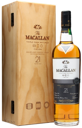 Macallan Fine Oak Scotch Single Malt 21 Year